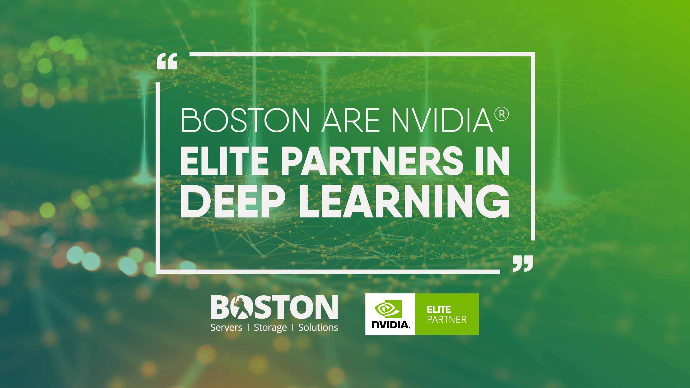 Boston Limited Achieves NVIDIA Elite Deep Learning Partner